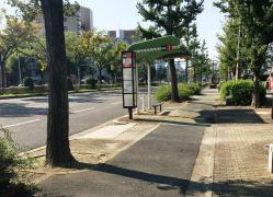 「洲原町」バス停留所