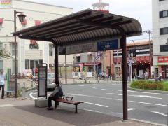 「下総中山駅」バス停留所