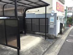 「鶴見病院前」バス停留所