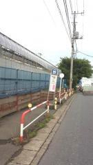 「岡野坂上」バス停留所
