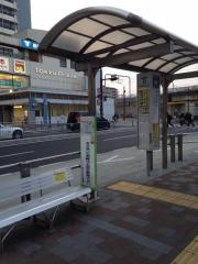 「新長田駅前」バス停留所
