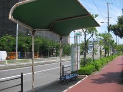 「泉尾四丁目」バス停留所