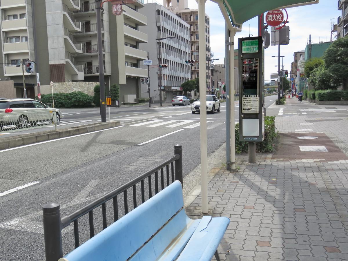湯里五丁目バス停留所