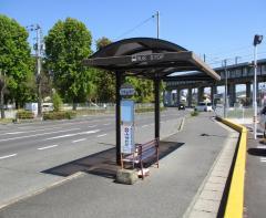 「児童公園前」バス停留所