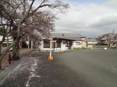 「信貴山門」バス停留所