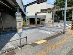 「西大井駅入口」バス停留所