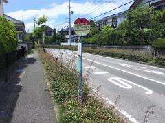 「レイクタウン北通り」バス停留所