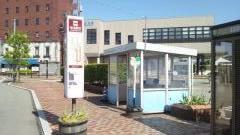 「砺波駅前」バス停留所