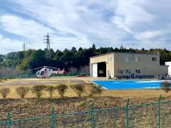 日本医科大学千葉北総病院ヘリポート