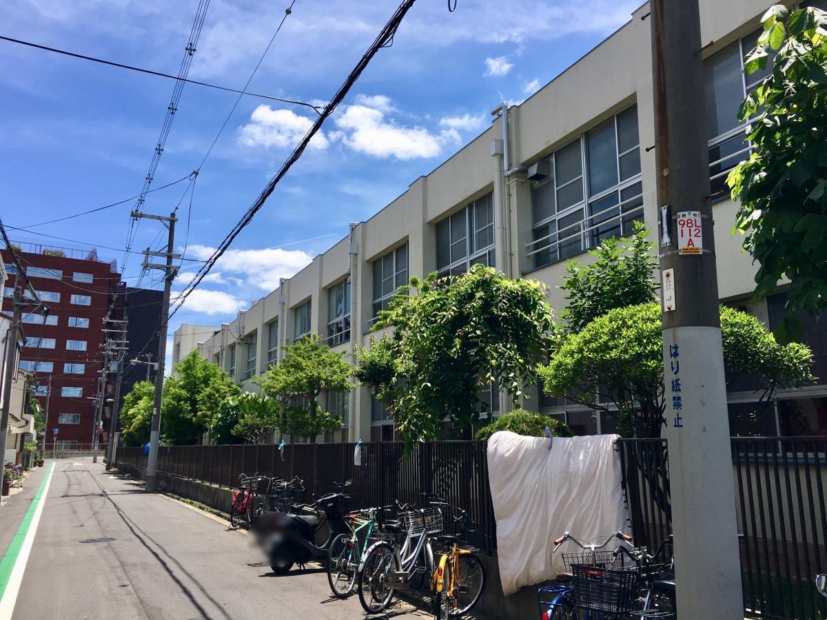 大阪市立舎利寺小学校