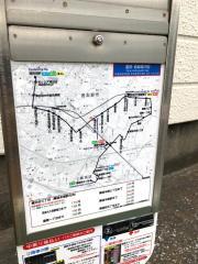 「鷺沼台三丁目」バス停留所