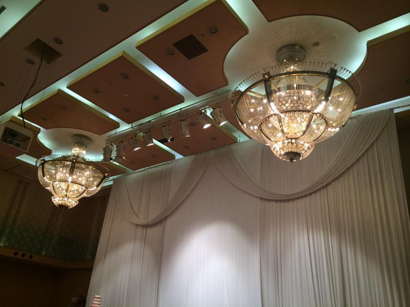 結婚式場です。