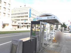 「南はりまや橋」バス停留所