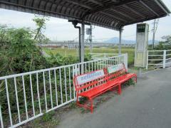 「緑川橋」バス停留所