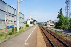 越中山田駅
