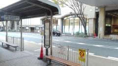 「JR芦屋」バス停留所