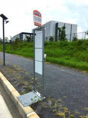 「けいはんな記念公園」バス停留所