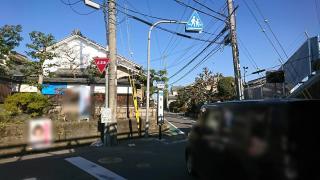 「円明寺」バス停留所