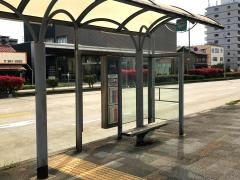 「東中島」バス停留所
