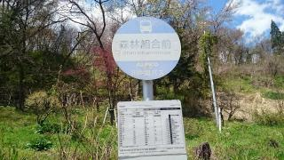 「森林組合前」バス停留所