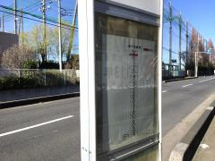 「大宮東高校」バス停留所
