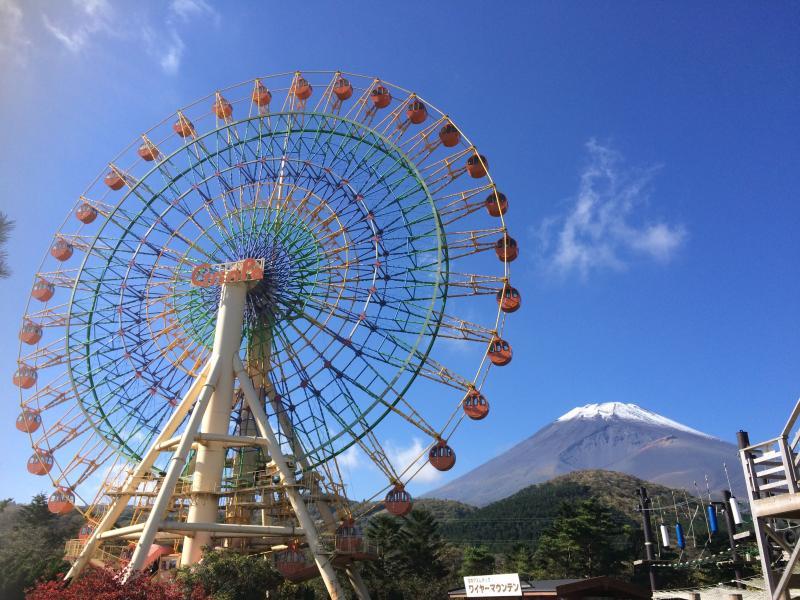 富士山と観覧車