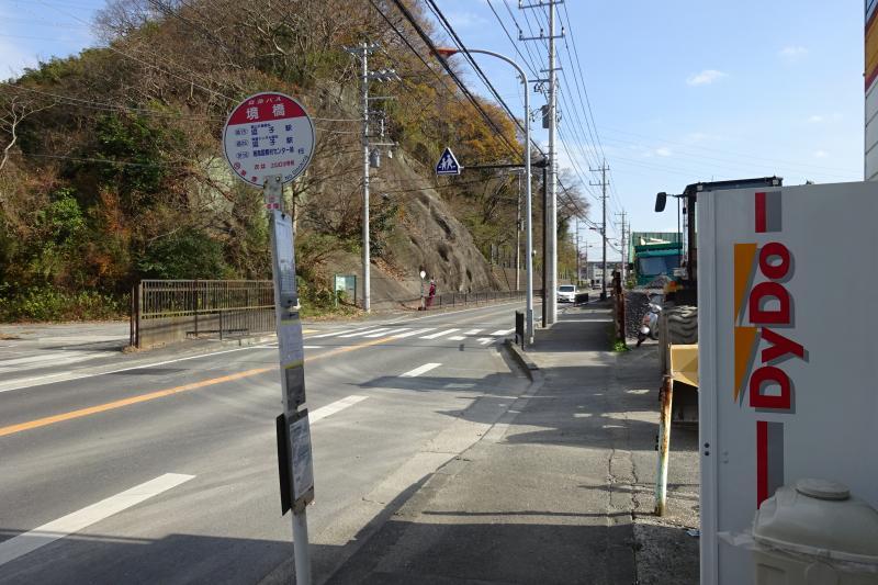 「境橋(葉山町)」バス停留所