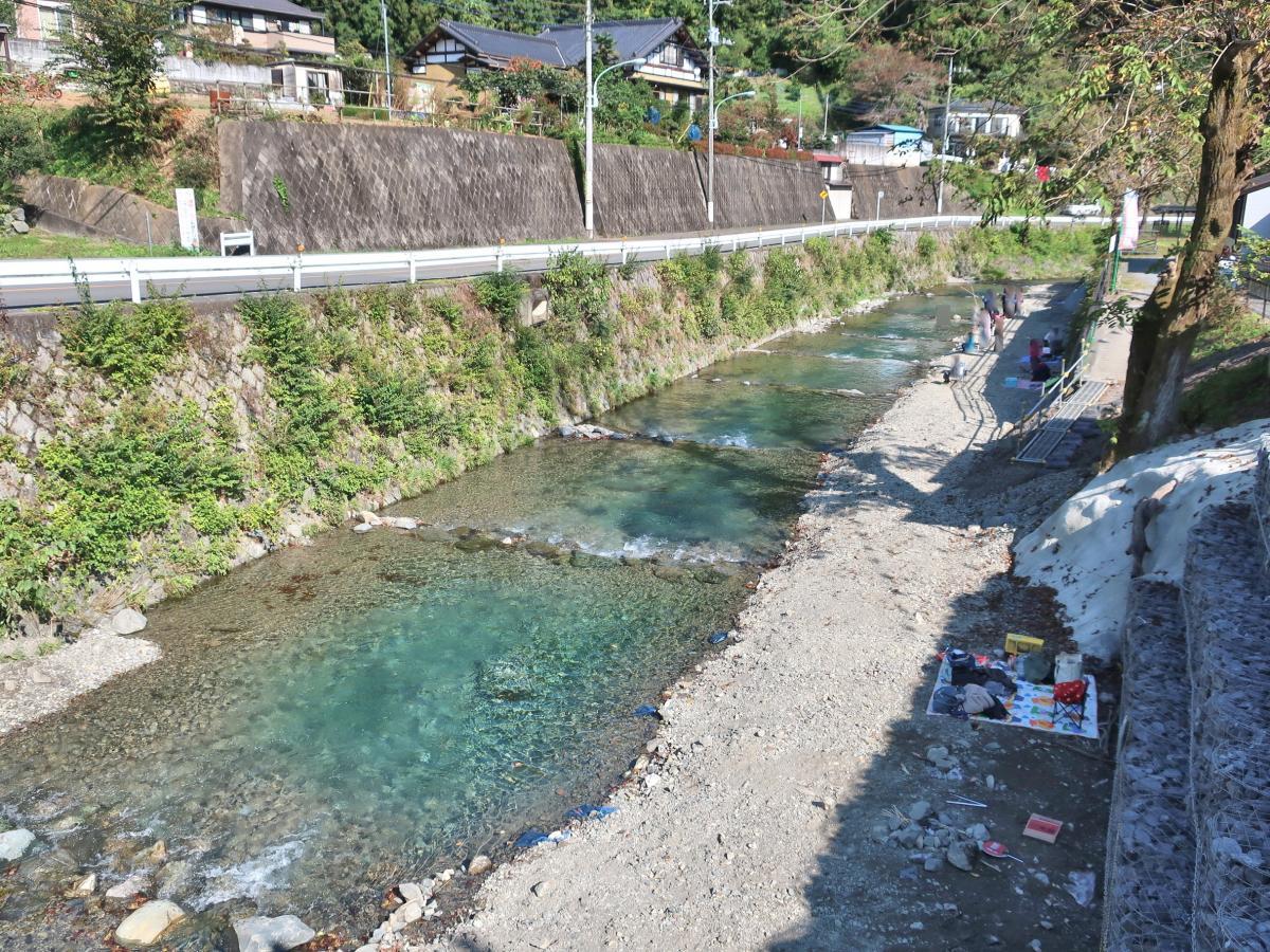 ます 釣 場 恩 方 北 浅川