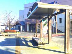 「東飯能駅東口」バス停留所