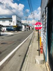 「浴場前」バス停留所