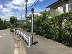 「潮見町」バス停留所