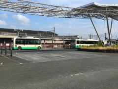 「小泉駅東口」バス停留所