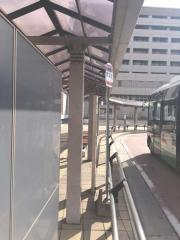 「木津駅」バス停留所