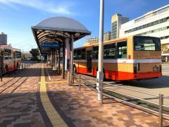 「西神中央駅」バス停留所