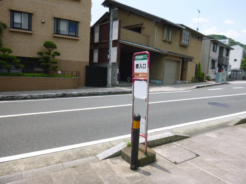 バス停外観