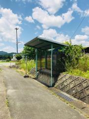 「新田上」バス停留所