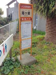 「尾ケ崎」バス停留所