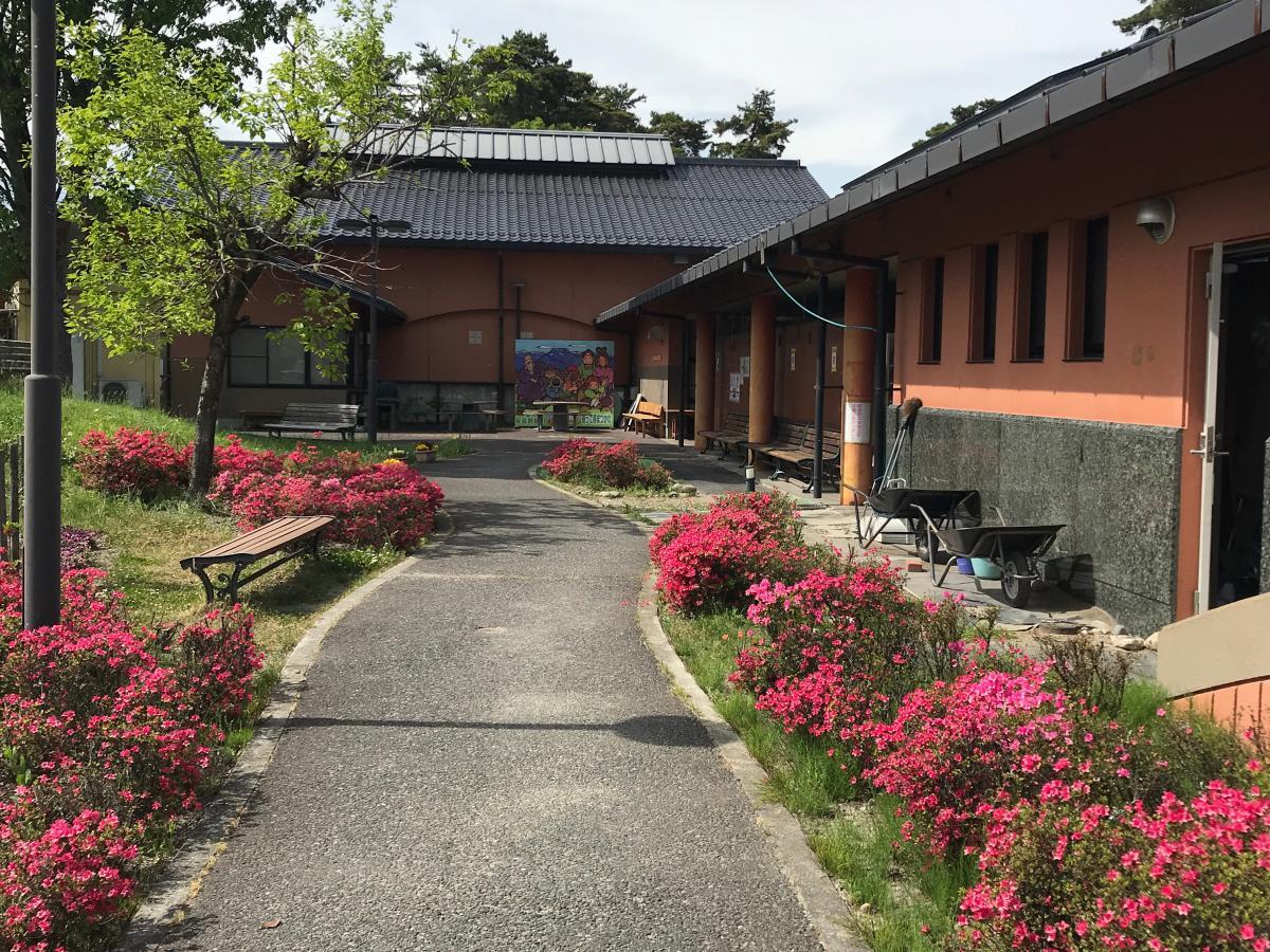 道の駅安曇野松川です。